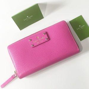 Kate Spade Neda Fiesta Rose wallet authentic